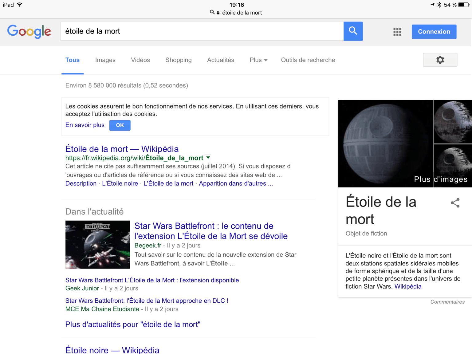 Comment chercher une image dans Google