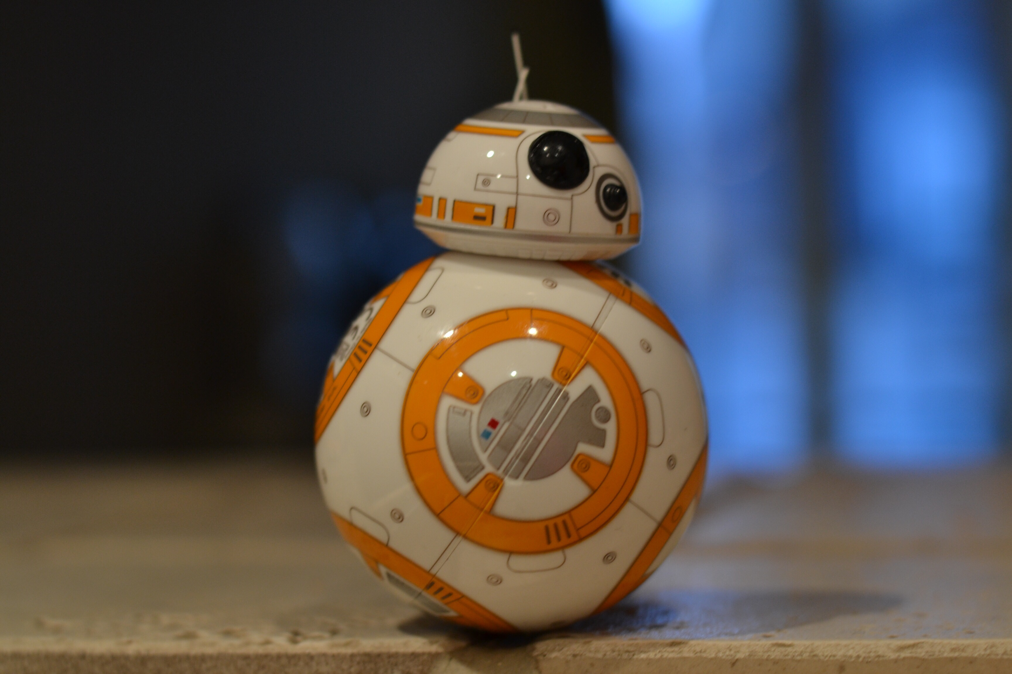 BB-8 photographié par Julien Tixier