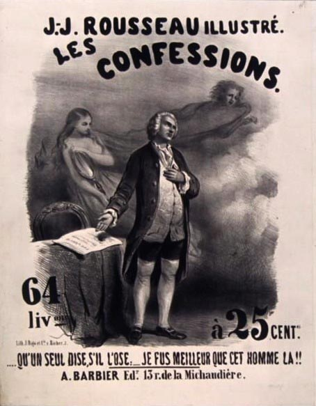 Confessions de rousseau dissertation