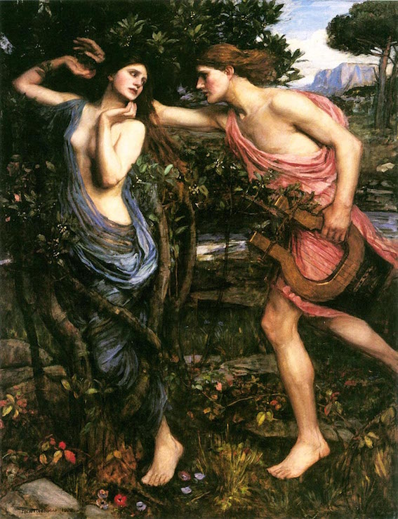 Daphné par Waterhouse