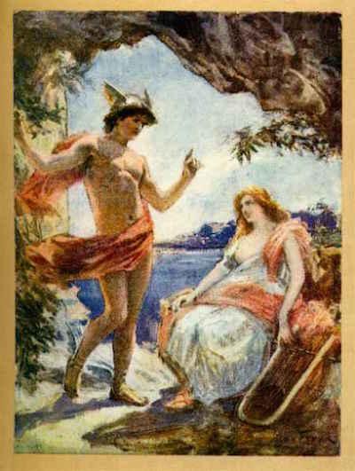 la rencontre d ulysse et calypso)