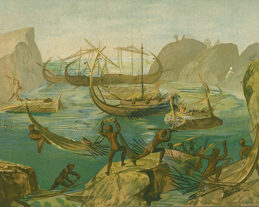Les Lestrygons  L Odyss  233 e