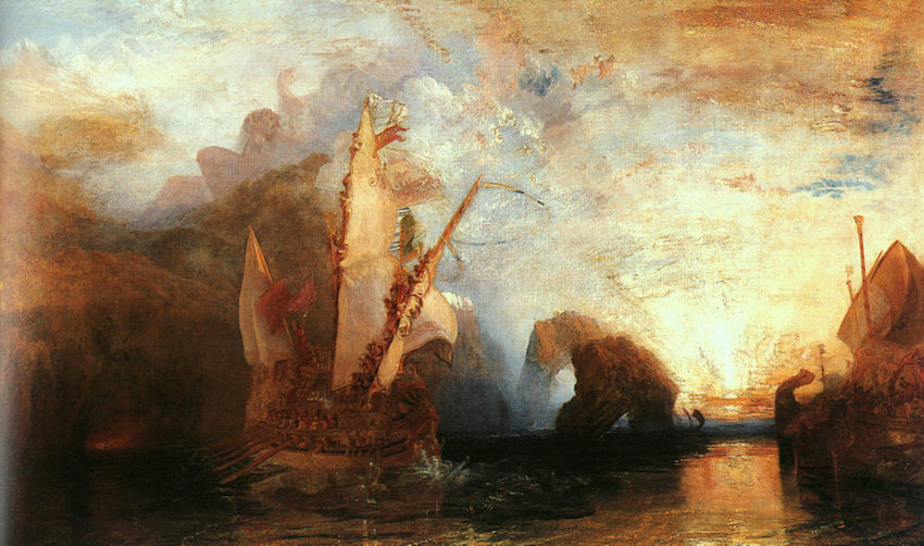 """Ulysse et Polyphème"" de Joseph Mallord William Turner"