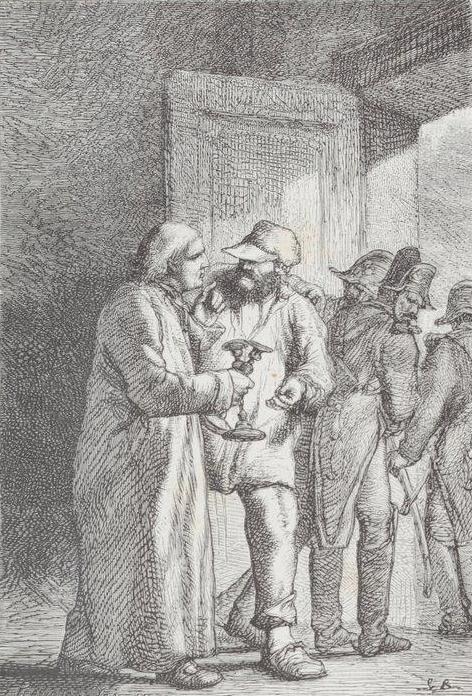 Jean Valjean Chez Monseigneur Myriel