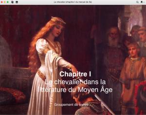 Le chevalier (chapitre I)