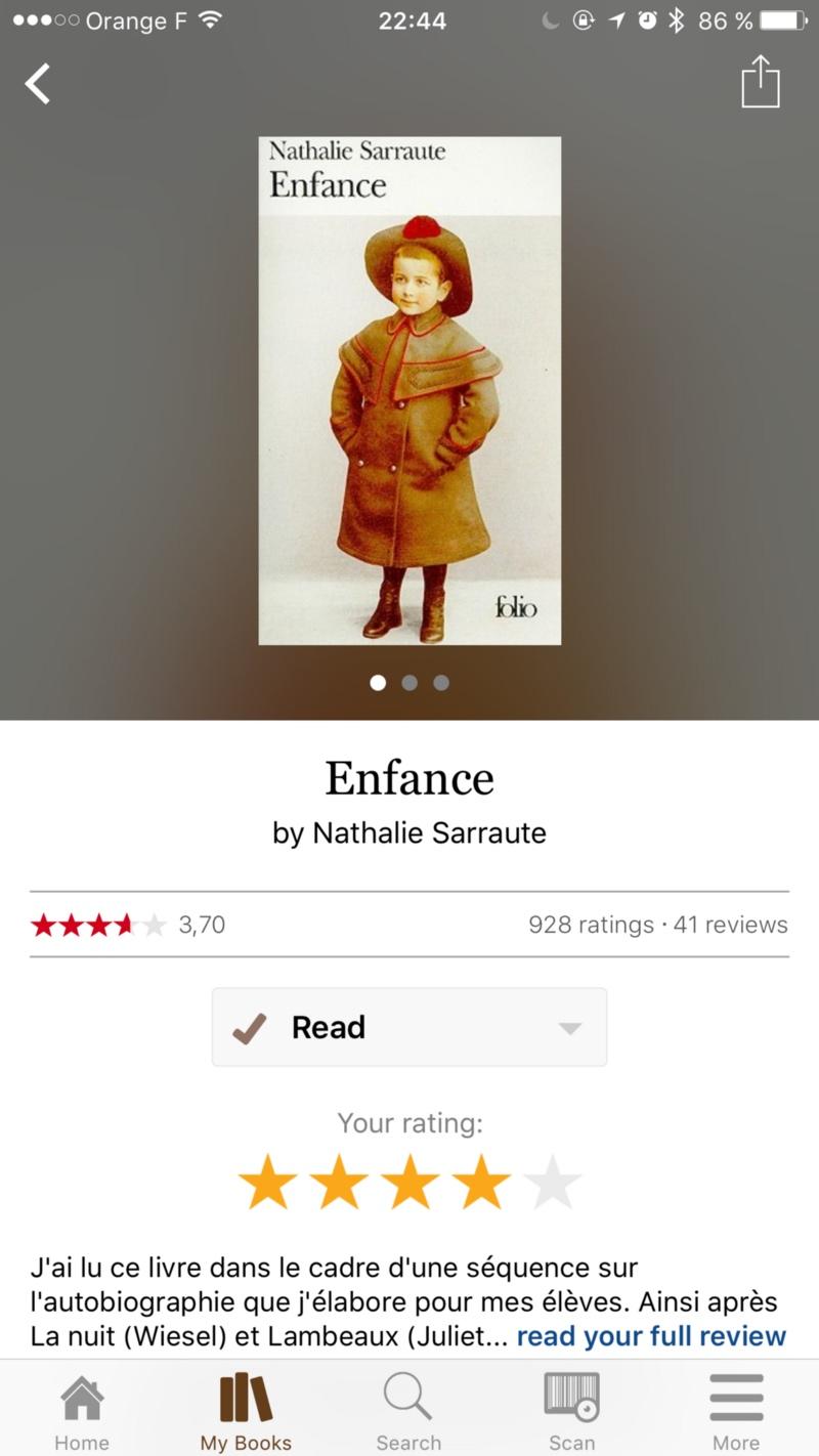 Enfance de Nathalie Sarraute