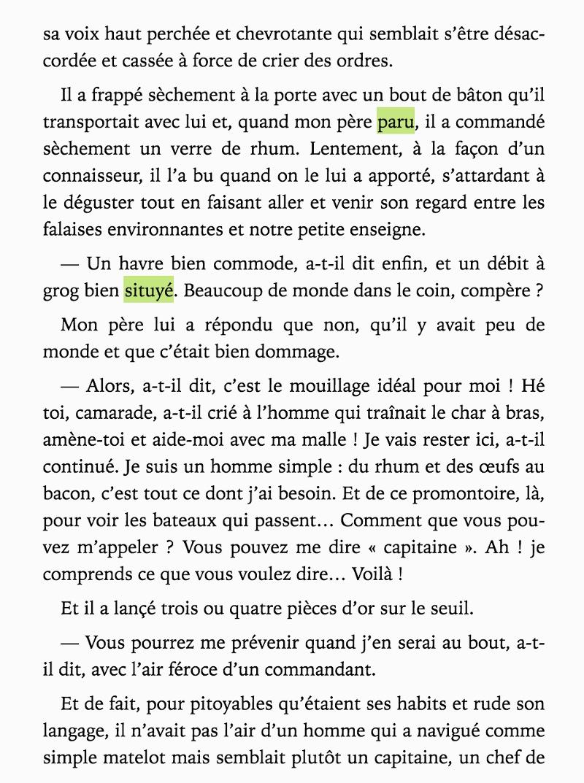 L'Île au trésor, Livre de Poche (Hachette)