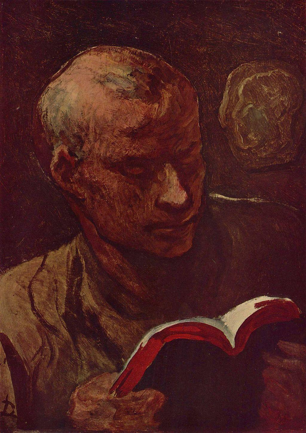 Le lecteur (Honoré Daumier)